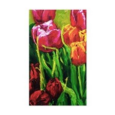 Tulip Watercolor Painting Decal