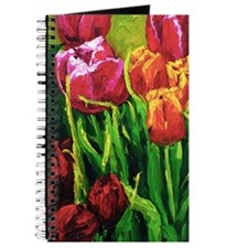 Tulip Watercolor Painting Journal