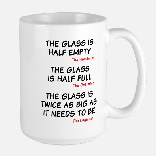 The glass is too big Mugs