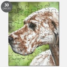 English Setter Profile Puzzle