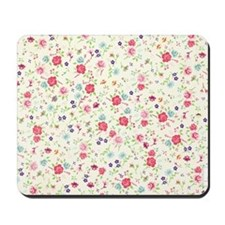 tiny floral dainty Mousepad
