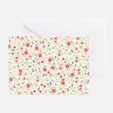 tiny floral dainty Greeting Card