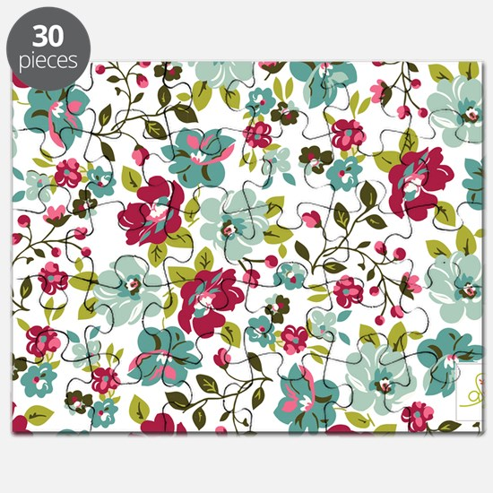 plum seed floral Puzzle