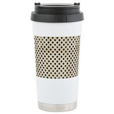 vintage polka dot Travel Mug
