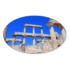 The temple of Athena Aphaea I Decal
