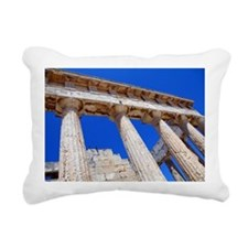 The temple of Athena Aph Rectangular Canvas Pillow