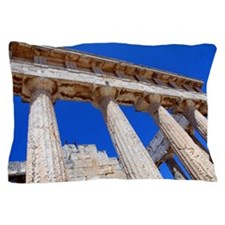 The temple of Athena Aphaea Pillow Case