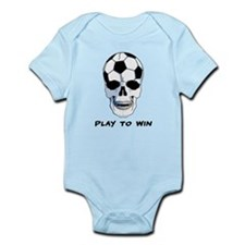 Skull Soccer Infant Bodysuit