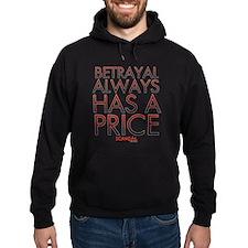 Betrayal Always Has a Price Hoodie (dark)