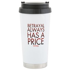 Betrayal Always Has a Price Travel Mug