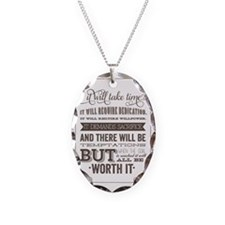 worth it quote Necklace