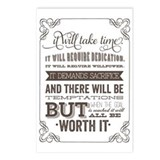 Motivational Postcards