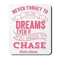 chase quote Mousepad