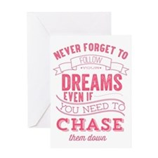 chase quote Greeting Card