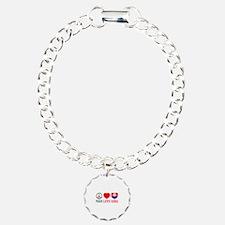 Peace Love Slovakia Bracelet