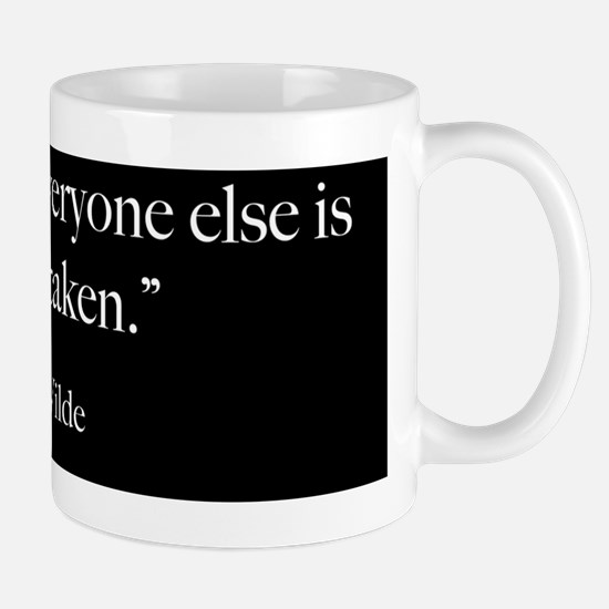 Be Yourself - Oscar Wilde Quot Mug