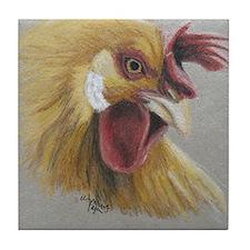 Rooster3 Tile Coaster