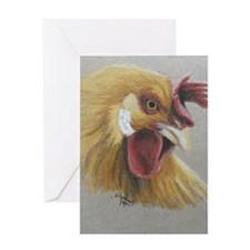 Rooster3 Greeting Card