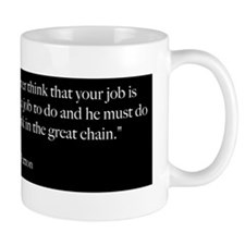 Great Chain - George Patton Quote Mug