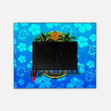 Hawaii Sunset Blue Honu Picture Frame