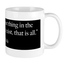 To Live - Oscar Wilde Quote Mug