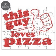 This Guy Loves Pizza Puzzle