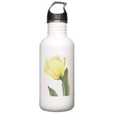 Yellow Tulip Water Bottle