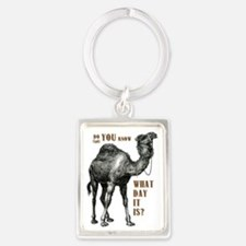 Do You Know What Day It Is Portrait Keychain