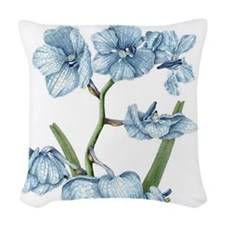 Orchid Woven Throw Pillow