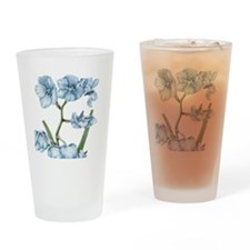 Orchid Drinking Glass