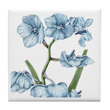 Orchid Tile Coaster