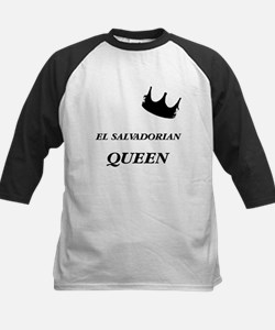 El Salvadorian Queen Kids Baseball Jersey