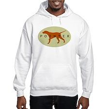 Pointer Dog (Sage) Hoodie