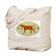 Pointer Dog (Sage) Tote Bag