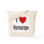 I Love Horoscope Tote Bag