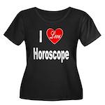 I Love Horoscope (Front) Women's Plus Size Scoop N