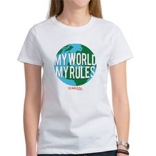 My World My Rules Women's T-Shirt