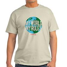 My World My Rules Light T-Shirt