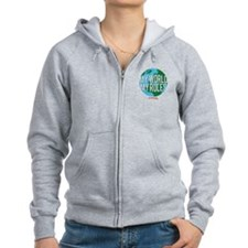 My World My Rules Women's Zip Hoodie