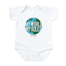 My World My Rules Infant Bodysuit