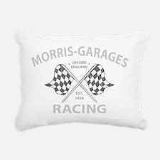 MG Morris Garages Rectangular Canvas Pillow