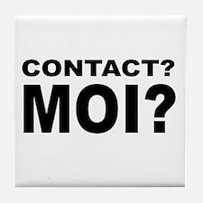 Contact? MOI? Tile Coaster