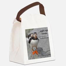 calendar    dec   cover Canvas Lunch Bag