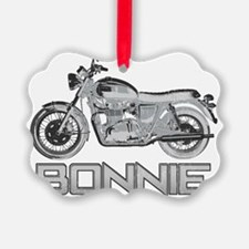 Bonnie Motorcycle Ornament