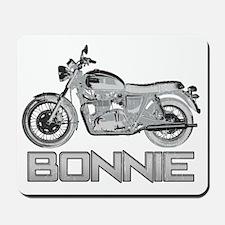 Bonnie Motorcycle Mousepad
