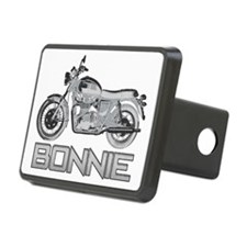 Bonnie Motorcycle Hitch Cover