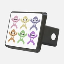 Baby Rainbow Sloths Hitch Cover