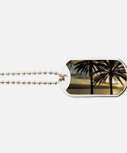 Sunset North Shore Oahu Dog Tags