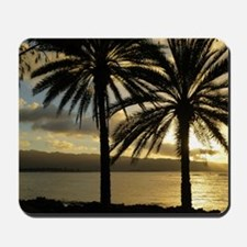 Sunset North Shore Oahu Mousepad