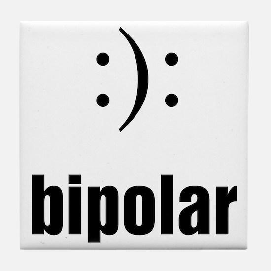 Bipolar Tile Coaster